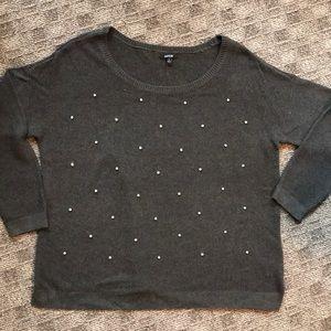 Grey Dazzled Sweater